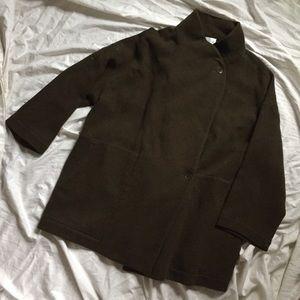 Vintage Wool Cocoon Coat